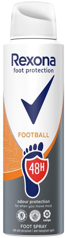 Erfrischendes Fußspray - Rexona Football Spray