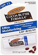 Düfte, Parfümerie und Kosmetik Lippenbalsam mit Vitamin E SPF 15 - Palmer's Cocoa Butter Formula Lip Balm SPF 15