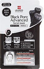 Düfte, Parfümerie und Kosmetik Gesichtsmaske mit Holzkohle - Leaders Ex Solution Black Pore Advanced Facial Mask
