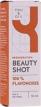 Düfte, Parfümerie und Kosmetik Regenerierendes Gesichtsserum - You & Oil Beauty Shot 04 100% Flavonoids Face Serum