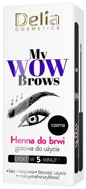 Henna für Augenbrauen - Delia My Wow Brows