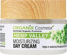 Düfte, Parfümerie und Kosmetik Feuchtigkeitsspendende Anti-Aging Tagescreme mit Hanfsamen-, Oliven- und Jojobaöl - Organix Cosmetix Hemp Valley Moisturizing Day Cream