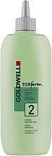 Düfte, Parfümerie und Kosmetik Dauerwellenflüssigkeit für gefärbtes Haar - Goldwell Topform 2