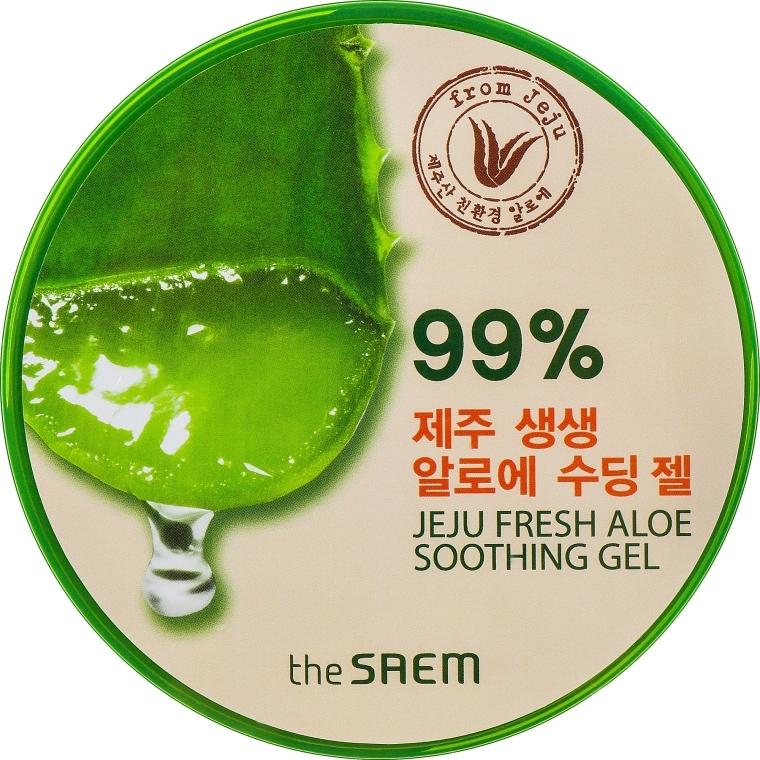 Körpergel mit Aloe Vera - The Saem Jeju Fresh Aloe Soothing Gel 99%
