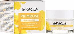 Düfte, Parfümerie und Kosmetik Anti-Falten Tages- und Nachtcreme mit Primelöl - Miraculum Gracja Semi-oily Cream With Evening Primrose