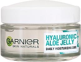 Düfte, Parfümerie und Kosmetik Feuchtigkeitsspendende Tagescreme mit Aloe Vera und Hyaluronsäure - Garnier Skin Naturals Hyaluronic Aloe Jelly Cream