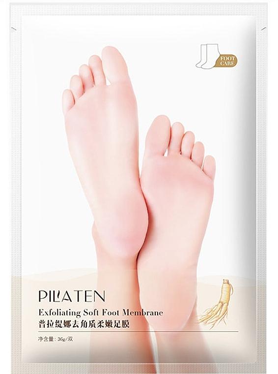 Exfolierende Fußmaske - Pilaten Exfoliating Soft Foot