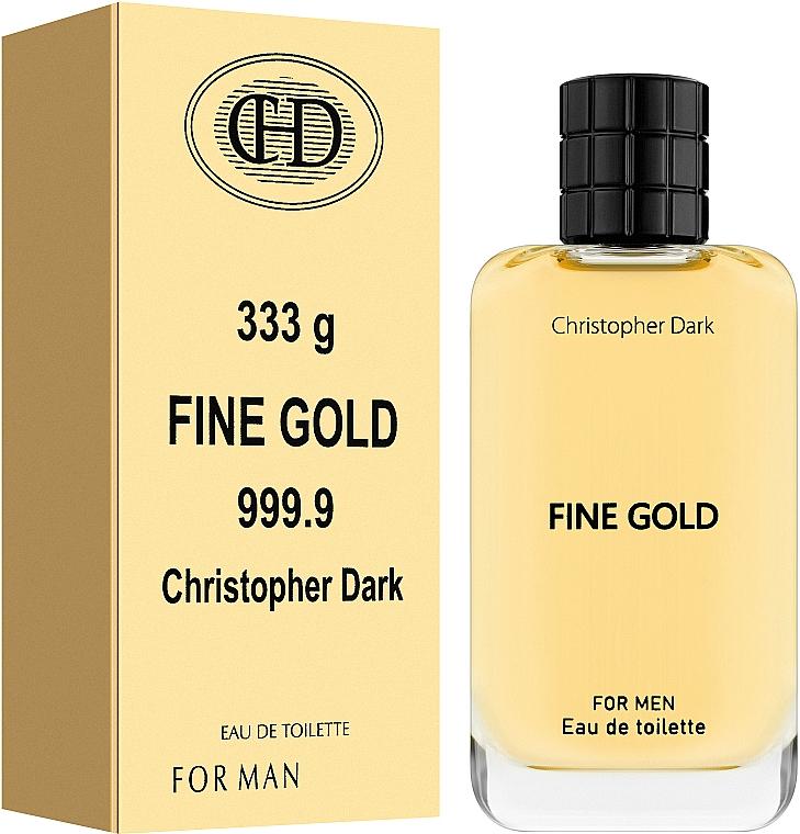 Christopher Dark Fine Gold - Eau de Toilette — Bild N2