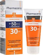 Düfte, Parfümerie und Kosmetik Feuchtigkeitsspendende Sonnenschutzlotion für den Körper SPF 30 - Pharmaceris S Sun Protect Moisturizing Body Lotion SPF30