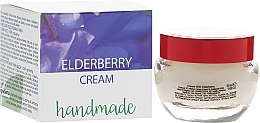 Düfte, Parfümerie und Kosmetik Handgemachte Gesichtscreme mit Holunderbeere - Hristina Cosmetics Handmade Elderberry Cream