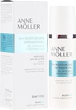 Düfte, Parfümerie und Kosmetik Feuchtigkeitsspendendes und mattierendes Gesichtsgel - Anne Moller Blockage 24h Moisturizing Defender Gel