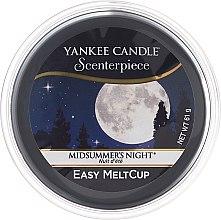 Düfte, Parfümerie und Kosmetik Duftendes Wachs - Yankee Candle Midsummer Night Scenterpiece Melt Cup