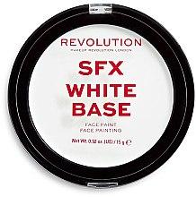 Düfte, Parfümerie und Kosmetik Aufhellender Primer-Puder - Makeup Revolution Halloween SFX White Cream Face Base