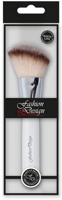 Make-up Pinsel 37184 - Top Choice Fashion Design White Line