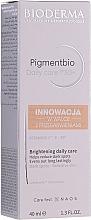 Düfte, Parfümerie und Kosmetik Aufhellende Gesichtscreme gegen Verfärbungen für empfindliche Haut SPF 50+ - Bioderma Pigmentbio Daily Care Brightening Daily Care SPF 50+