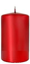 Düfte, Parfümerie und Kosmetik Dekorative Kerze rot 7x10 cm - Artman
