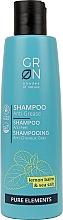 Düfte, Parfümerie und Kosmetik Shampoo mit Zitronenmelisse und Meersalz für schnell fettendes und öliges Haar - GRN Pure Elements Anti-Grease Shampoo