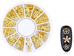 Düfte, Parfümerie und Kosmetik Nageldekoration Gold-2 - Deni Carte