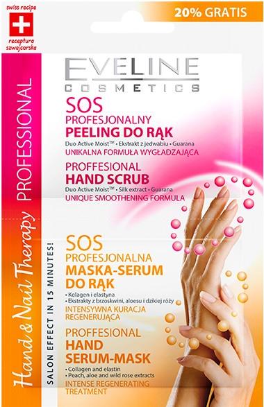 Handpeeling-Maske - Eveline Cosmetics Therapy — Bild N1