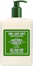 Düfte, Parfümerie und Kosmetik Erfrischende Duschcreme mit Sheabutter, Zitronen- und Verbene-Duft - Institut Karite Lemon Verbena Shea Cream Wash