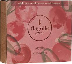 Düfte, Parfümerie und Kosmetik Natürliche Hand- und Körperseife Moosbeere - Flagolie by Paese Cranberry