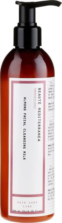 Gesichtsreinigungsmilch mit Mandel - Beaute Mediterranea Almond Facial Cleansing Milk