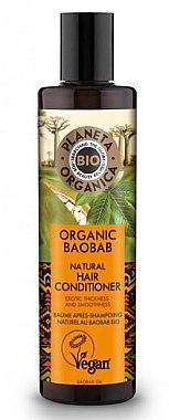 Stärkende Haarspülung mit Bio Baobaböl - Planeta Organica Organic Baobab Natural Hair Conditioner