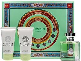 Düfte, Parfümerie und Kosmetik Versace Versense - Duftset (Eau de Toilette 50ml + Körperlotion 50ml + Duschgel 50ml)