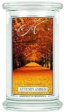 Düfte, Parfümerie und Kosmetik Duftkerze im Glas Autumn Amber - Kringle Candle Autumn Amber