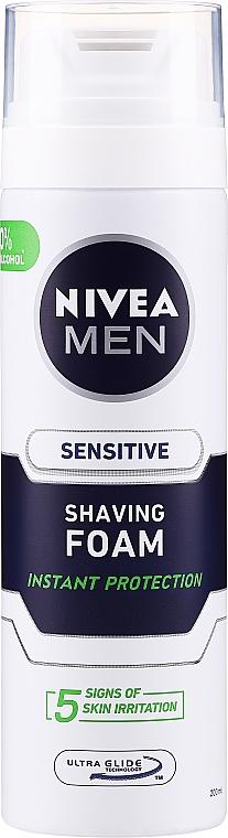 Kühlender Rasierschaum für empfindliche Haut - Nivea For Men Shaving Foam — Bild N1
