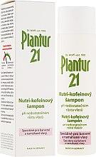 Düfte, Parfümerie und Kosmetik Nutri-Coffein-Shampoo bei magerem Haarwachstum für coloriertes und strapaziertes Haar - Plantur Nutri Coffein Shampoo