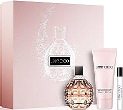 Düfte, Parfümerie und Kosmetik Jimmy Choo Jimmy Choo - Duftset (Eau de Parfum 100ml + Körperlotion 100ml + Mini 7,5ml)