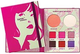 Düfte, Parfümerie und Kosmetik Make-up Palette - Neve Cosmetics Harajuku Memoir Palette