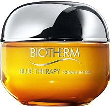 Düfte, Parfümerie und Kosmetik Regenerierende Gesichtscreme - Biotherm Blue Therapy Cream-in-Oil