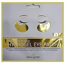 Düfte, Parfümerie und Kosmetik Hydrogel Augenpatches - BeauuGreen Collagen & Gold