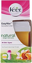 Düfte, Parfümerie und Kosmetik Wachspatrone mit Tiareblüten und Arganöl - Veet Easy Wax Natural Inspirations