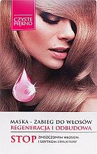 Düfte, Parfümerie und Kosmetik Regenerierende Haarmaske - Czyste Piękno