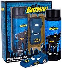 Düfte, Parfümerie und Kosmetik DC Comics Batman - Badepflegeset (Badeschaum 250ml + Spielzeug)