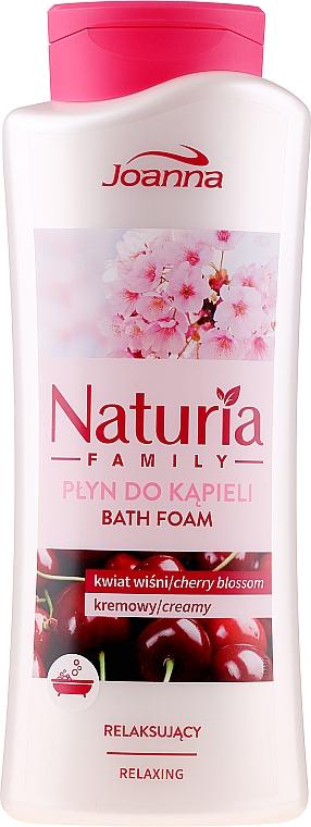 Badeschaum - Joanna Naturia Family Bath Foam Cherry Blossom