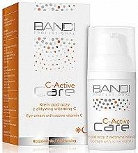 Düfte, Parfümerie und Kosmetik Aufhellende Augenkonturcreme mit Vitamin C - Bandi Professional C-Active Eye Cream With Active Vitamin C
