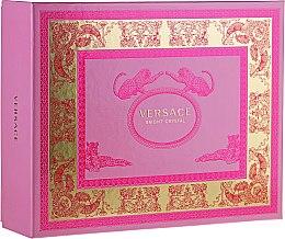 Düfte, Parfümerie und Kosmetik Versace Bright Crystal - Duftset (Eau de Toilette/50ml + Körperlotion/50ml + Duschgel/50ml)