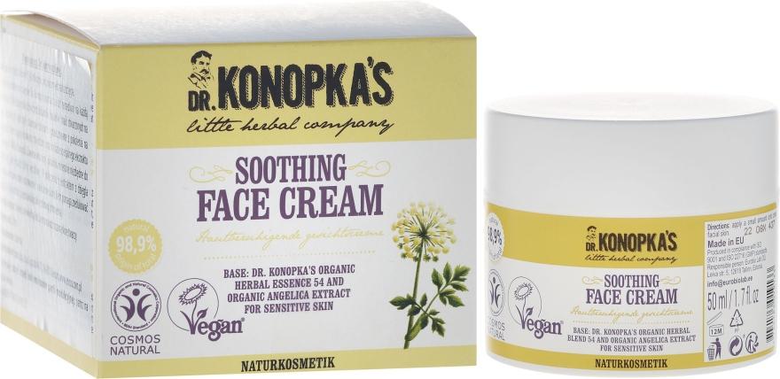Beruhigende Gesichtscreme - Dr. Konopka's Soothing Face Cream