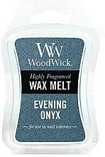 Düfte, Parfümerie und Kosmetik Tart-Duftwachs Evening Onyx - WoodWick Wax Melt Evening Onyx