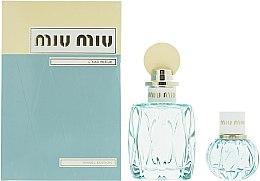 Düfte, Parfümerie und Kosmetik Miu Miu L'Eau Bleue - Duftset (Eau de Parfum 100ml + Eau de Parfum 20ml)