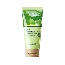 Düfte, Parfümerie und Kosmetik Feuchtigkeitsspendender Gesichtsreinigungsschaum mit Aloe Vera-Saft - The Saem Jeju Fresh Aloe Cleansing Foam