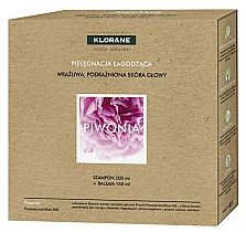 Düfte, Parfümerie und Kosmetik Haarpflegeset - Klorane Peony (Shampoo 200ml + Haarspülung 150ml)