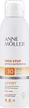 Düfte, Parfümerie und Kosmetik Wasserdichter Sonnenschutzspray für den Körper SPF 30 - Anne Moller Non Stop Active Sun Invisible Mist SPF30
