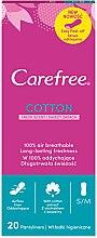 Düfte, Parfümerie und Kosmetik Slipeinlagen mit Frischeduft 20 St. - Carefree Cotton Fresh Scent