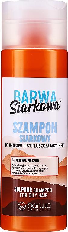 Antibakterielles Shampoo mit Schwefel - Barwa Special Sulphur Antibacterial Shampoo — Bild N1