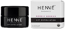 Düfte, Parfümerie und Kosmetik Lippenpeeling mit Beeren - Henne Organics Nordic Berries Lip Exfoliator
